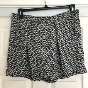 BCBGeneration pleated high waist shorts